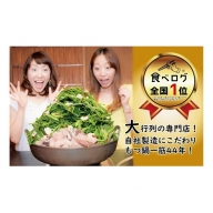 A625.もつ鍋専門店【楽天地】新もつ鍋セット(2~3人前)