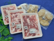 JAPAN10 蔵王からの贈りもの(豚小間、ハンバーグ、肉団子)2,070g