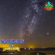 星の降る夜<写真・A4サイズ1枚>【1090672】