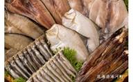 漁協直送 地魚6種の干物セット(ホッケ、きんき、ししゃも他) [B02-045]