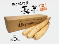 鯵ヶ沢町産 長芋(約5kg)