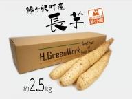 鯵ヶ沢町産 長芋(2.5kg)