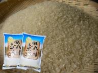新米 令和2年産米 つがるロマン(精米)10kg(5kg×2袋) 風丸農場のお米