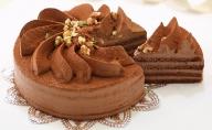 口どけなめらか生チョコケーキ 『フラワーショコラ』  北海道のチョコレートケーキ