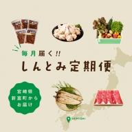 <野菜・肉・鰻・新米>魅力発信!しんとみ12ヵ月定期便※2021年1月配送開始【F36】