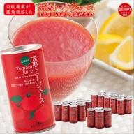 完熟トマトジュース(無塩缶)30缶