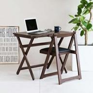 《2021年4月中旬以降発送予定》Desk & Chair Set ブラウン