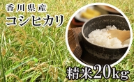 はなまる農園 令和3年 新米予約 香川県産「コシヒカリ(精米)20kg」