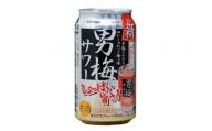 a12-078 【サッポロ】男梅 サワー 350ml缶×24本
