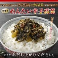 Z010.【辛ウマ】博多の味!めんたい辛子高菜(440g)