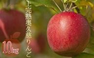 【2020年9月以降発送】奥久慈りんご園の樹上完熟奥久慈りんご 10kg