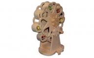 手作り木のおもちゃ 煌めく観覧車