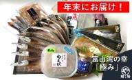 【年末お届け】富山湾の幸「極み」白えび・ほたるいか・氷見産一夜干し