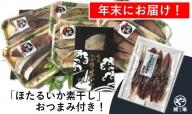 【年末お届け】氷見産ぶり!切身真空3種18切・ぶり生ハム(ほたるいか素干し付き)