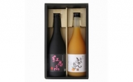 和歌山の贅沢梅酒ギフトセット(紅南高・完熟みかん梅酒)