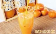 果汁100% 田村そだちみかんジュース 970ml×3本