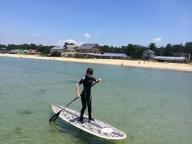 福津の海★パドルサーフィン体験スクール1回コース[B4266]
