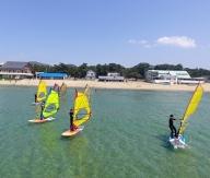 福津の海★ウインドサーフィン体験スクール1回コース[B4267]