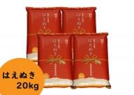 【079-025】庄内産 はえぬき20kg