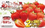 博多あまおう【2021年2月より順次】約550g[B2211]