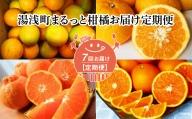 G60-T02_【定期便 7回】湯浅町まるっと柑橘お届け定期便(1月~7月お届け)