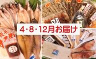 氷見堀与【年3回定期便】季節の干物(のどぐろ・白えび・ほたるいか入)