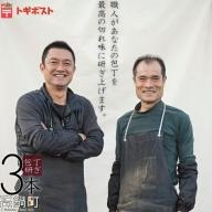<とぎやさんの包丁とぎ トギポスト 3本>
