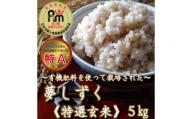 CI005 《令和2年産米》有機肥料を使った『夢しずく』玄米5kg(みやき町産)