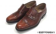 本革 5E レザービジネスシューズ ブラウン(紳士靴)