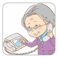 I-141-4 郵便局のみまもりでんわサービス12ヶ月コース【固定電話】