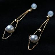 Q−048.2Way大人エレガンスなアコヤ真珠ピアス