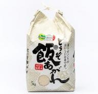 M−030.【定期便6回】特別栽培米5kg(白米)