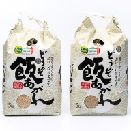 Q−052.【定期便5回】特別栽培米10kg(玄米)
