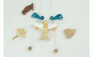 「楽樹」のぼり人形 トビウオくん&マグネットセット