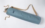 「琉球帆布」ヨガマットケースA(スモークターコイズ)