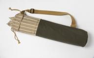 「琉球帆布」ヨガマットケースB(グリーン)