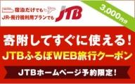 【芸西村】JTBふるぽWEB旅行クーポン(3,000円分)
