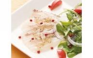 【玄界灘の天然真鯛+大葉ジュレソース】「MOTTO食べ鯛<8食セット>」 株式会社アキラ・トータルプランニング