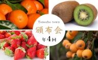 【4回お届け】土庄町 季節の果物