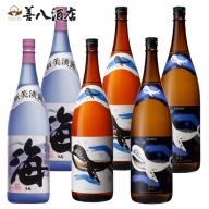 D4-2558/大海酒造 海シリーズ 1800ml×6本セット