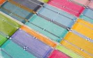 【機織工房しよん】ロートン織コースター5枚セット