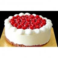 最高級洋菓子 シュス木苺レアチーズケーキ15cm ※配送不可期間あり