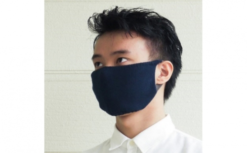 肌に優しいニットマスク Lサイズ   au PAY ふるさと納税