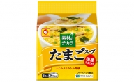 東洋水産 素材のチカラ たまごスープ 5P×6(ケース)