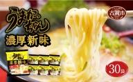 うまかっちゃん 濃厚新味【 30袋 (5袋パック×6セット)】 ハウス食品(株)