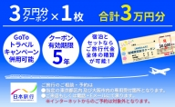 日本旅行 御殿場市地域限定旅行クーポン【30,000円分】