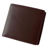 SOMES FE-02 2つ折財布(チョコレートブラウン)