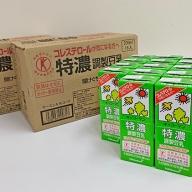 キッコーマン 特濃調製豆乳3ケースセット