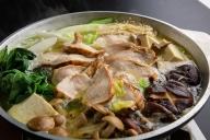 奥様もうっとり♪平飼い鶏の濃厚白濁スープ博多水炊き(4~5人前)[C4286]