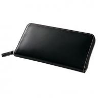 SOMES CNT-04 ラウンド財布(ブラック)
